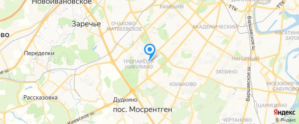 Вирта Электроник на карте Москвы
