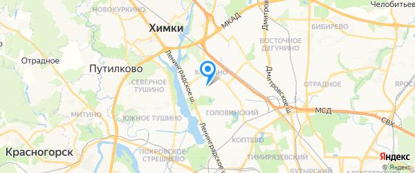 GINZZU на карте Москвы