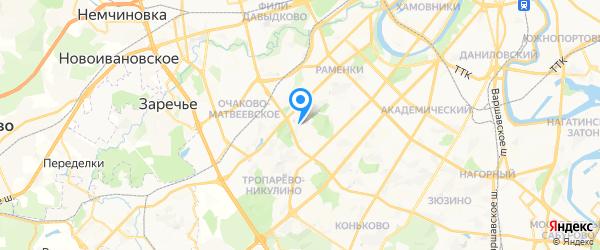 УСП Компьюлинк на карте Москвы
