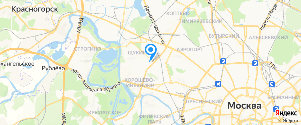 Лана-Сервис на карте Москвы