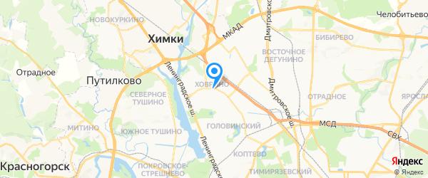Компьютерный сервис-центр PCMAST.RU на карте Москвы
