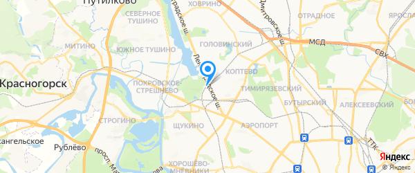 Ремонтная мастерская Zakaz Dj.Ru на карте Москвы