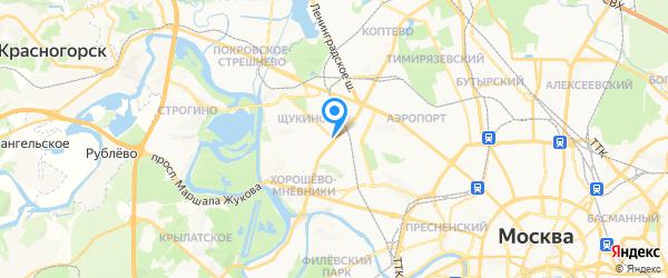 Ремонт аквариумных светильников на карте Москвы