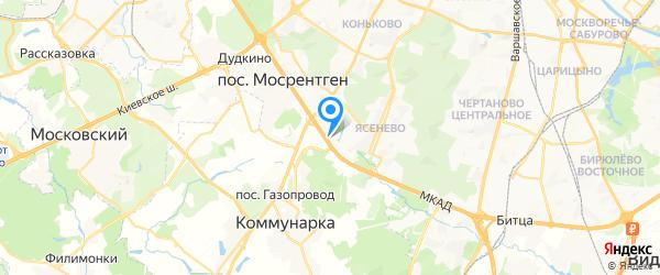 Горсервис на карте Москвы