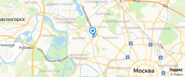 ИТА-Стройинком на карте Москвы