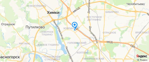 НьюБренд на карте Москвы