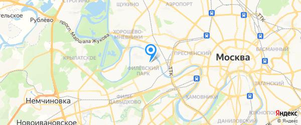 Старс-Моторс на карте Москвы