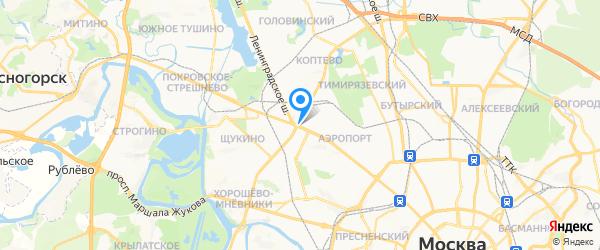 Проф-Сити (ремонт Miele) на карте Москвы