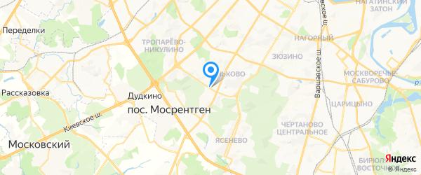 ОргТехПром на карте Москвы