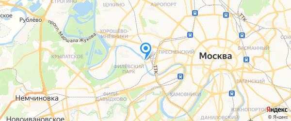 КДС-Технический центр на карте Москвы