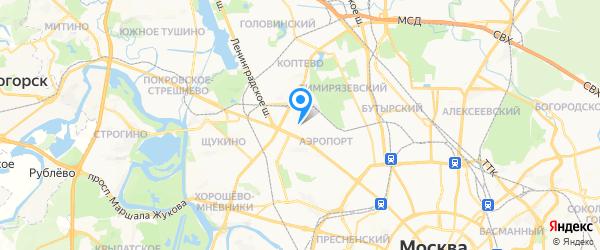 73 мастера на карте Москвы