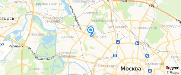 МТехник на карте Москвы