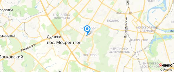 ZyXEL на карте Москвы