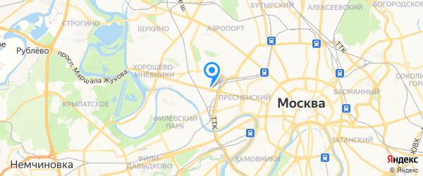 Сервис-центр МиксАрт на карте Москвы