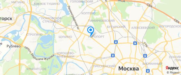 Acer на карте Москвы