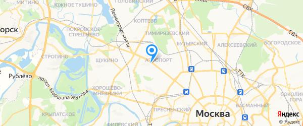 Электро-Бензотехника.рф на карте Москвы