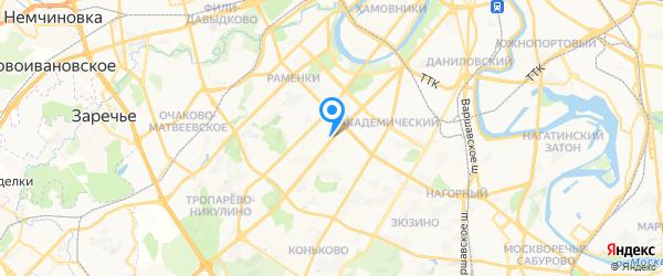 ihelp.ru на карте Москвы