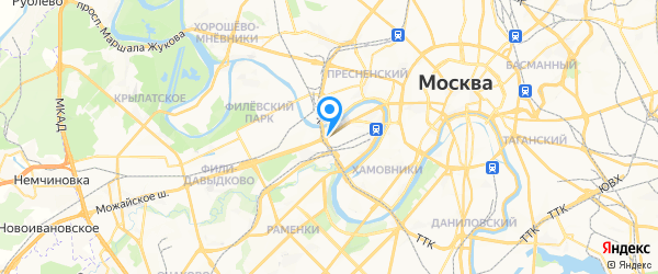 Samsung на карте Москвы