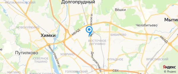 Хороший Сервис на карте Москвы