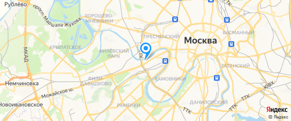Cервисный центр Toshiba на карте Москвы