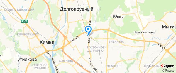 BezPK на карте Москвы