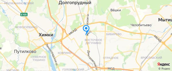 Алкиона на карте Москвы