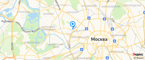 РемонтРТВ на карте Москвы