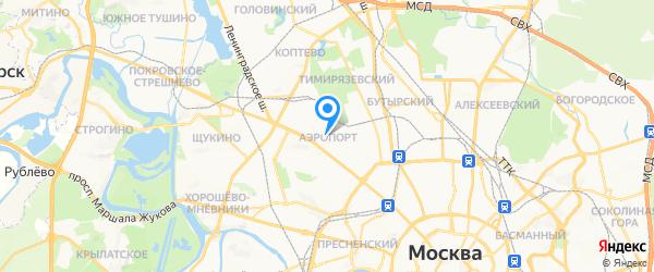 AEPerson на карте Москвы