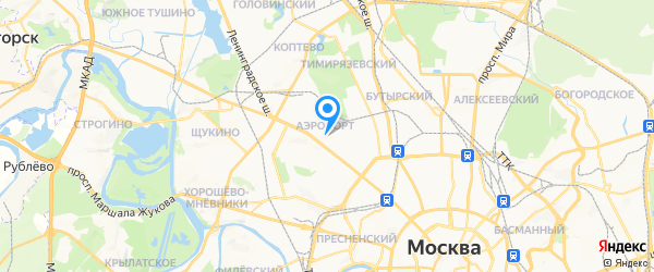 Деловая Русь на карте Москвы