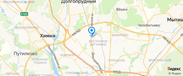 Командор-Копирс на карте Москвы