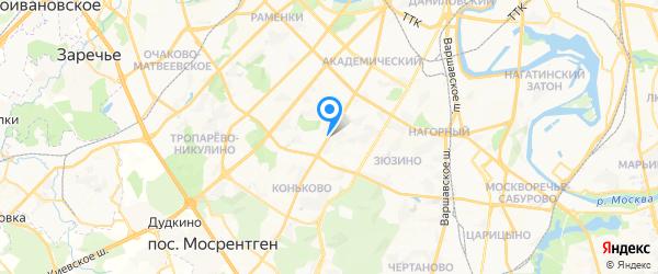 ТПС Оргсервис на карте Москвы