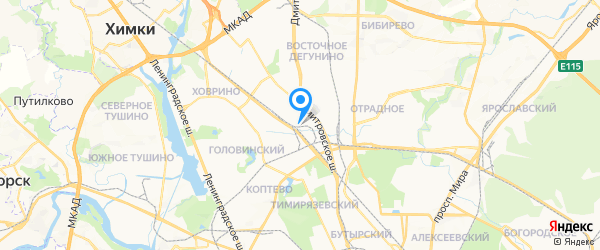 ГК Евроинжиниринг на карте Москвы