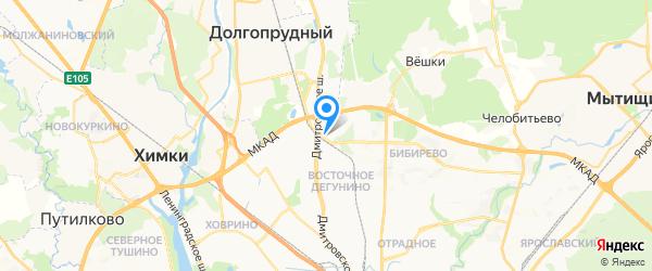 Севмонтажсервис на карте Москвы