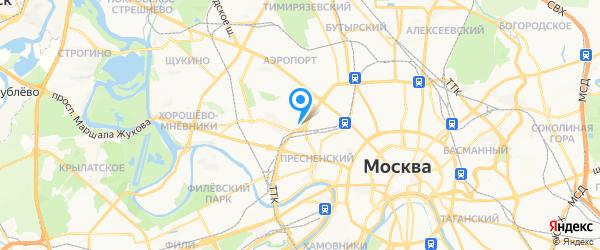 Копия Москва на карте Москвы