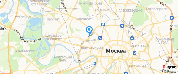 Компьютерная клиника № 772 на карте Москвы