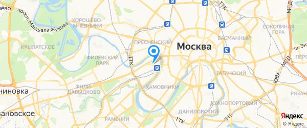 RSS на карте Москвы