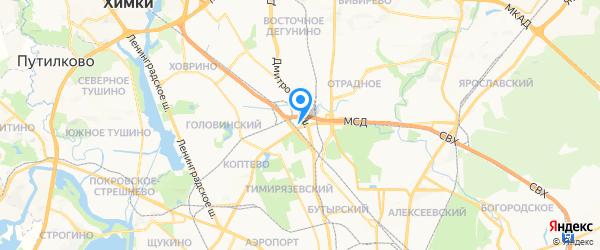 Олимп-моторс на карте Москвы