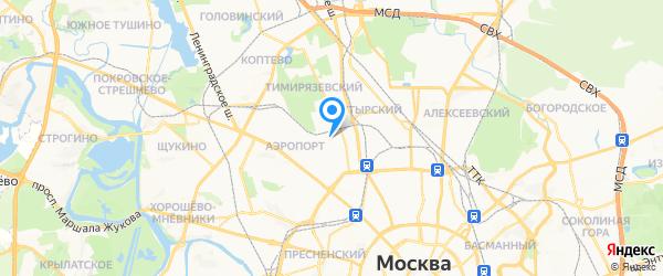 Сервис групп на карте Москвы