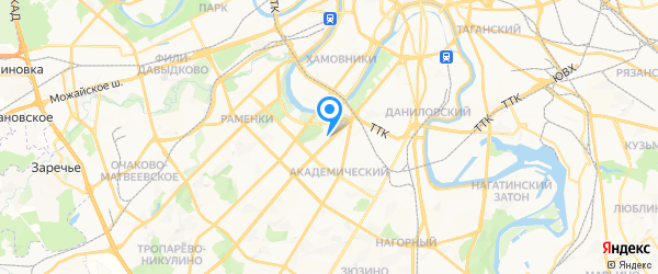 Раском на карте Москвы