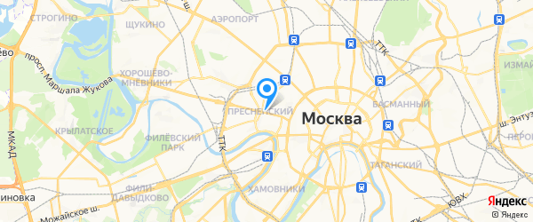 Парамитек на карте Москвы