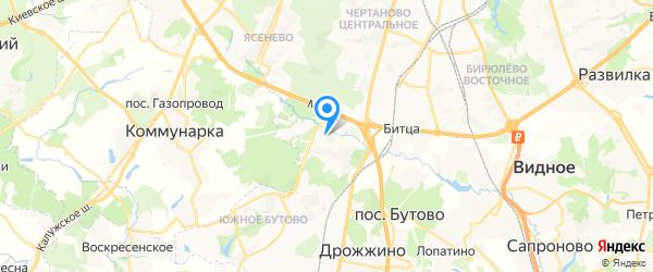 ОТС на карте Москвы