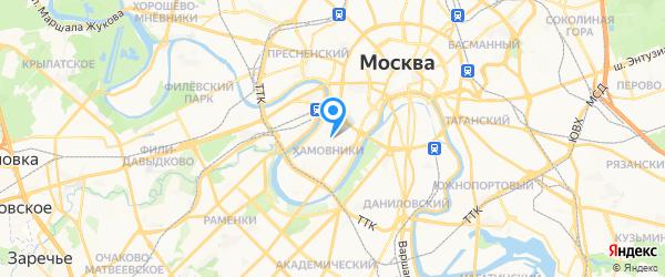 Ателье Panasonic на карте Москвы