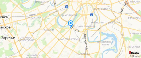 SERVISSOT на карте Москвы
