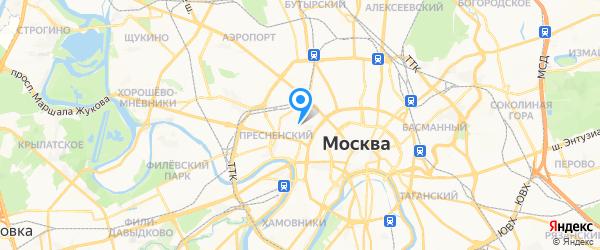 ТМ ОргТехМастер на карте Москвы