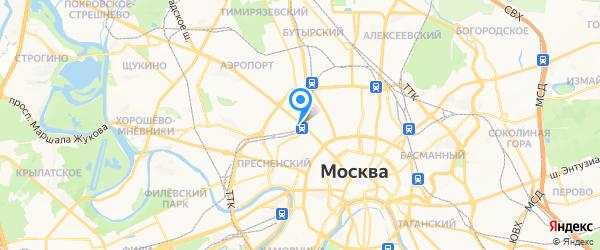 Скайнет Сервис на карте Москвы