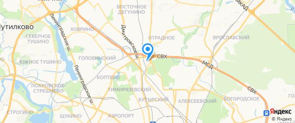 Сервисный Центр Климатической Техники на карте Москвы