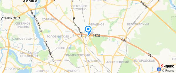 Электроник на карте Москвы