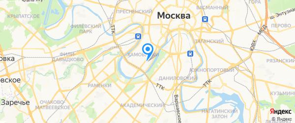 ПромИнвесГарант на карте Москвы