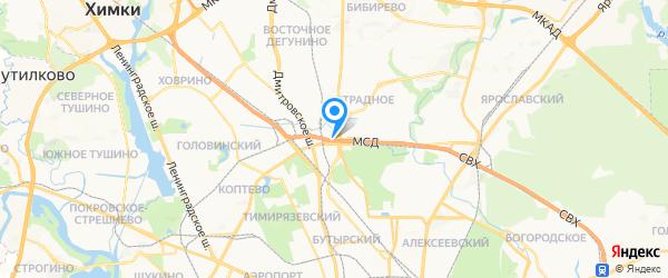 ИТ Системы на карте Москвы