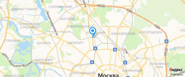 АмперВольт на карте Москвы